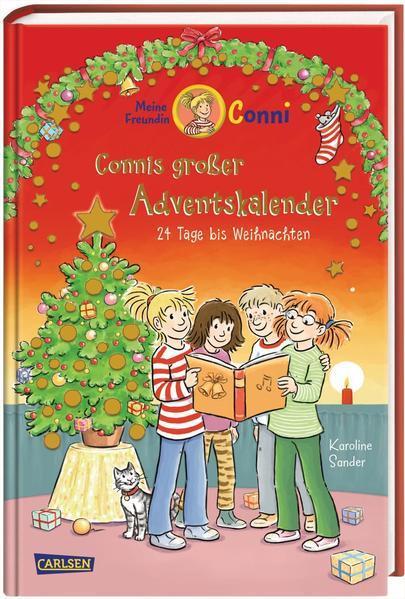 Meine Freundin Conni - Connis großer Adventskalender - 24 Tage bis Weihnachten (Mängelexemplar)