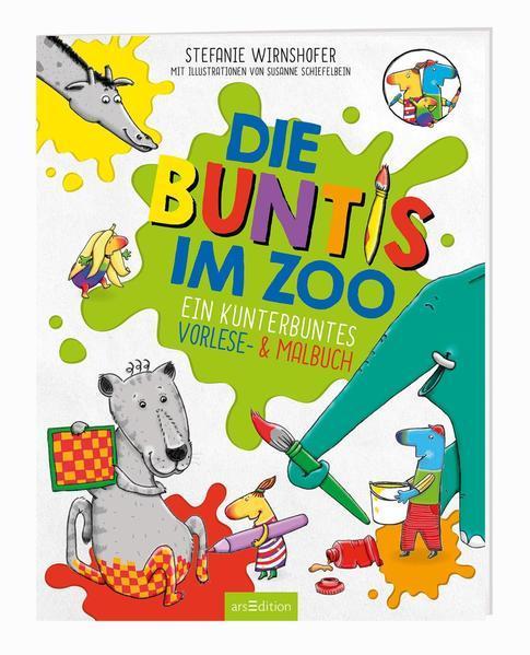 Die Buntis im Zoo - Ein kunterbuntes Vorlese- & Malbuch
