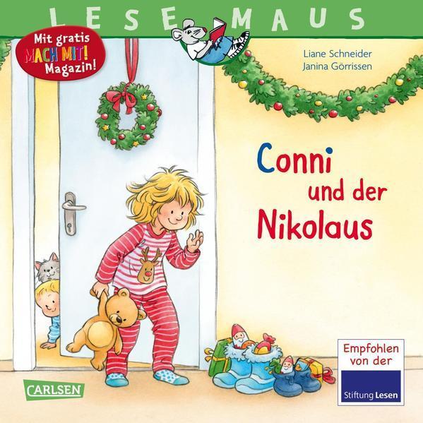 LESEMAUS 192: Conni und der Nikolaus (Mängelexemplar)