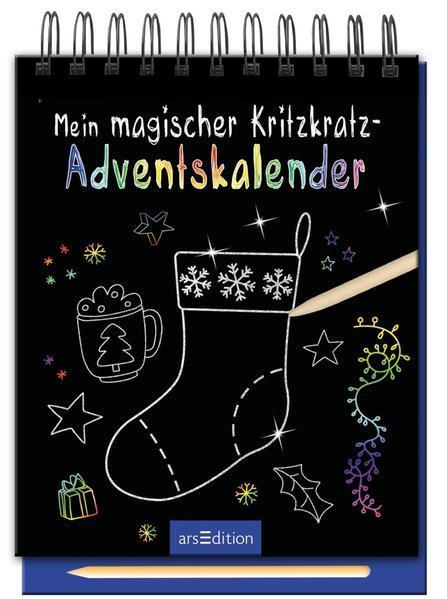 Mein magischer Kritzkratz-Adventskalender (Mängelexemplar)