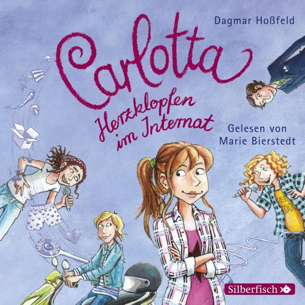 Carlotta 6: Carlotta - Herzklopfen im Internat - Hörbuch 2 CDs