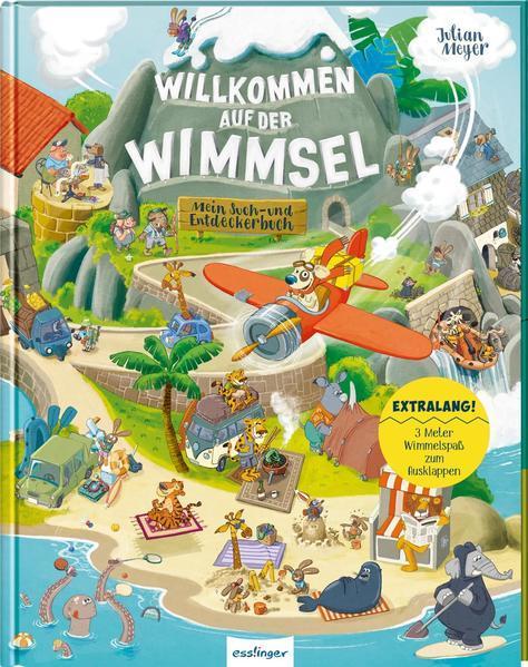 Willkommen auf der Wimmsel - Mein Such- und Entdeckerbuch