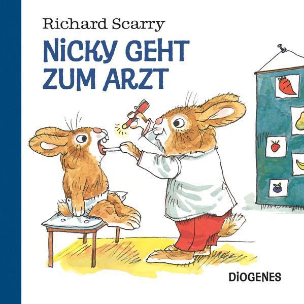 Nicky geht zum Arzt (Mängelexemplar)