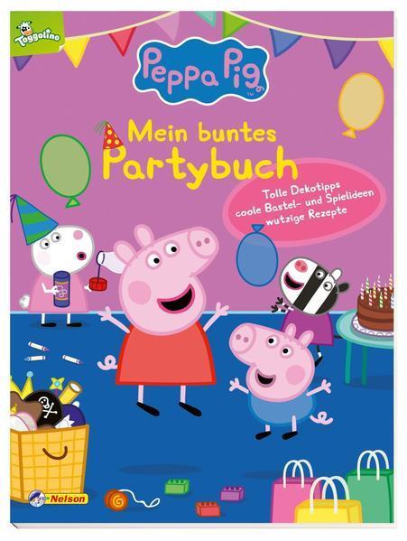 Peppa: Mein buntes Partybuch - Dekotipps, wutzige Rezepte, Bastel- & Spielideen (Mängelexemplar)