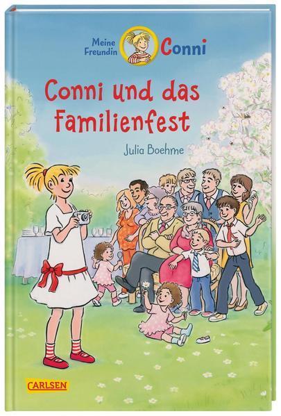 Conni-Erzählbände 25: Conni und das Familienfest (farbig illustriert) (Mängelexemplar)
