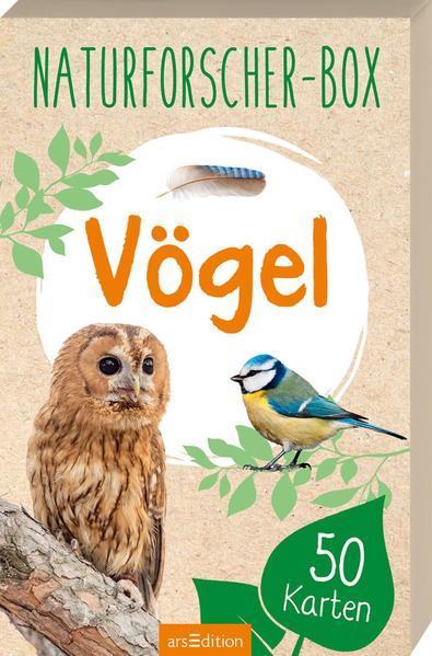 Naturforscher-Box - Vögel - mit 50 Karten