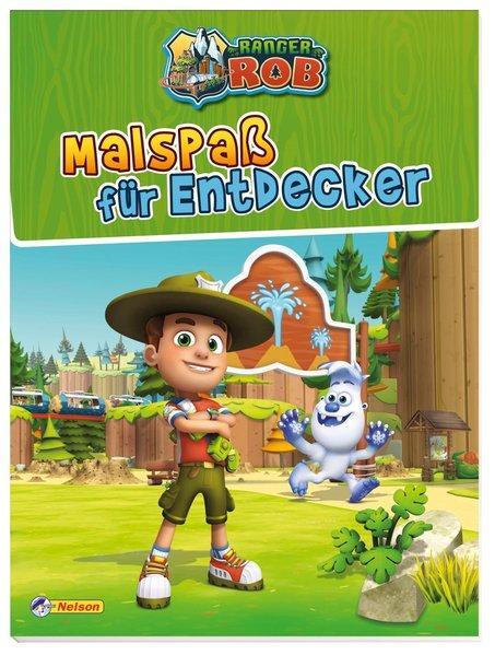 Ranger Rob: Malbuch (Mängelexemplar)