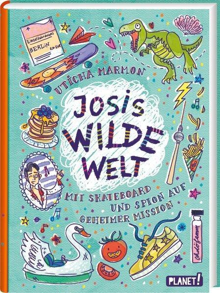 Josis wilde Welt - Mit Skateboard und Spion auf geheimer Mission (Mängelexemplar)