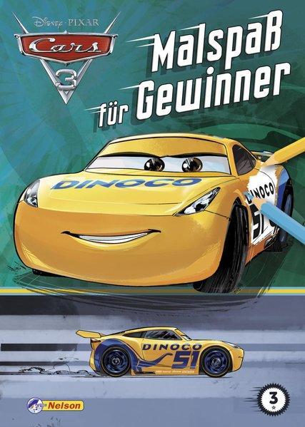 Disney Cars 3: Malspaß für Gewinner (Mängelexemplar)