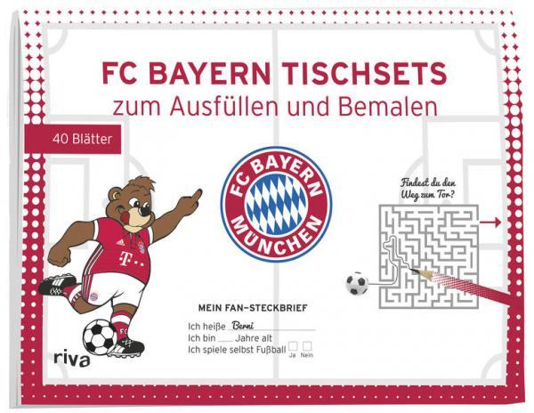 Mein FC Bayern - 40 Tischsets für kleine Fans