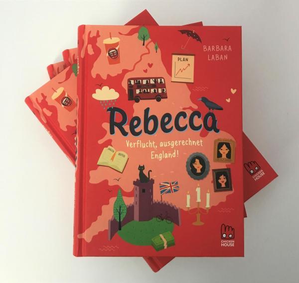 Rebecca - Verflucht, ausgerechnet England! (Mängelexemplar)