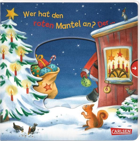 Wer hat den roten Mantel an? Der ... Weihnachtsmann! - Reime-Buch (Mängelexemplar)
