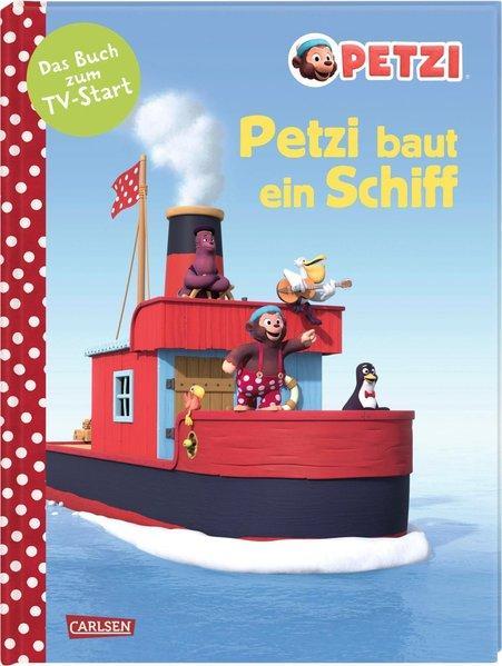 Petzi baut ein Schiff - Das Bilderbuch zur Fernsehserie (Mängelexemplar)
