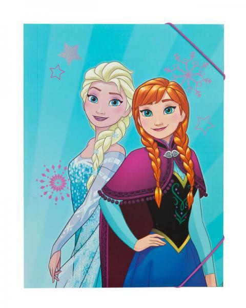 Frozen - Die Eiskönigin: Gummizugmappe A4