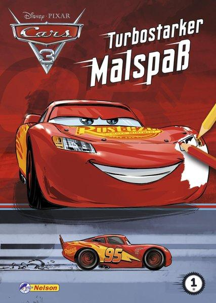 Disney Cars 3: Turbostarker Malspaß (Mängelexemplar)