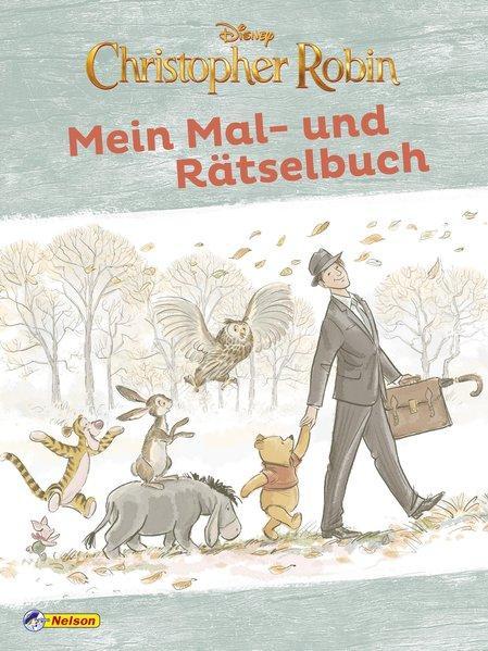 Disney Christopher Robin: Mein Mal- und Rätselbuch (Mängelexemplar)